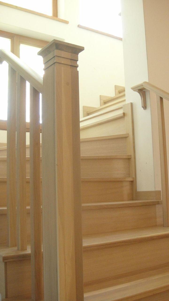 крилл - деревянные лестницы